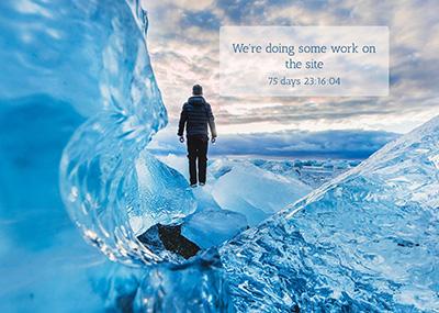 Ice Theme Template