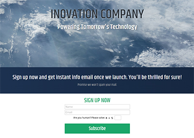 Inovation Template