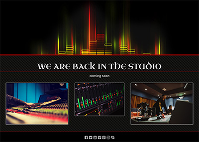 Music Studio Template