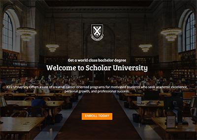 Scholar University Template