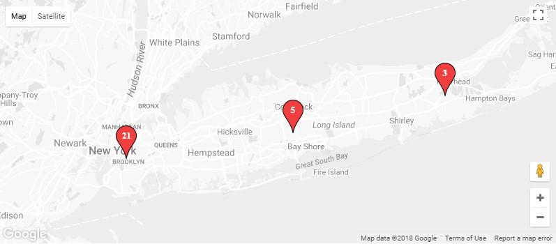 Google Maps Widget PRO pins clustering