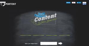 Portent Blog Topic Generator
