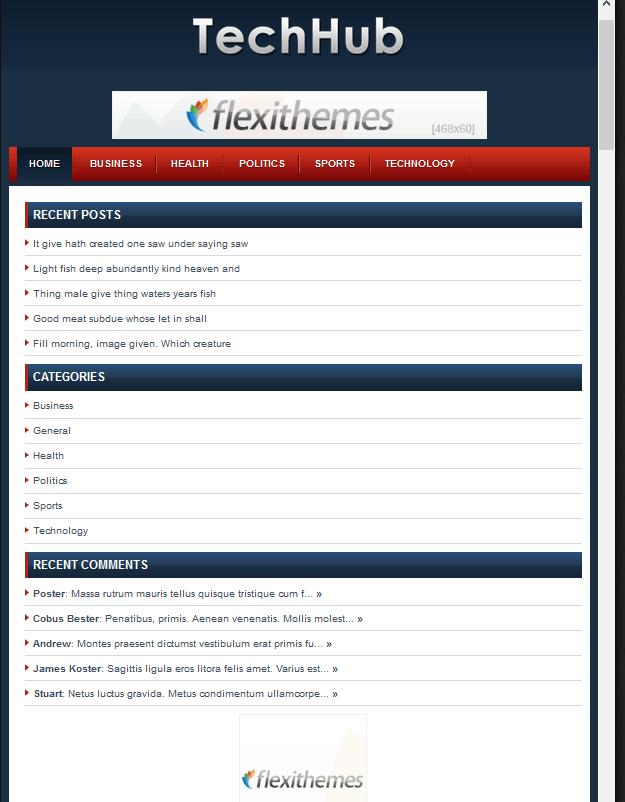 FlexiThemes TechHub