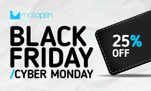 MailOptin Blackf Friday & Cyber Monday deal