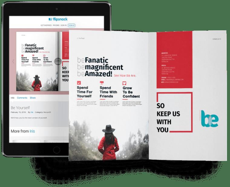 digital brochure tool