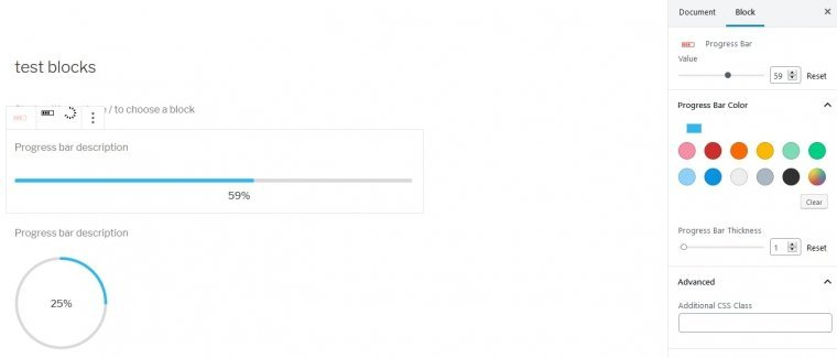 Use a progress bar to change up the visual style of your page