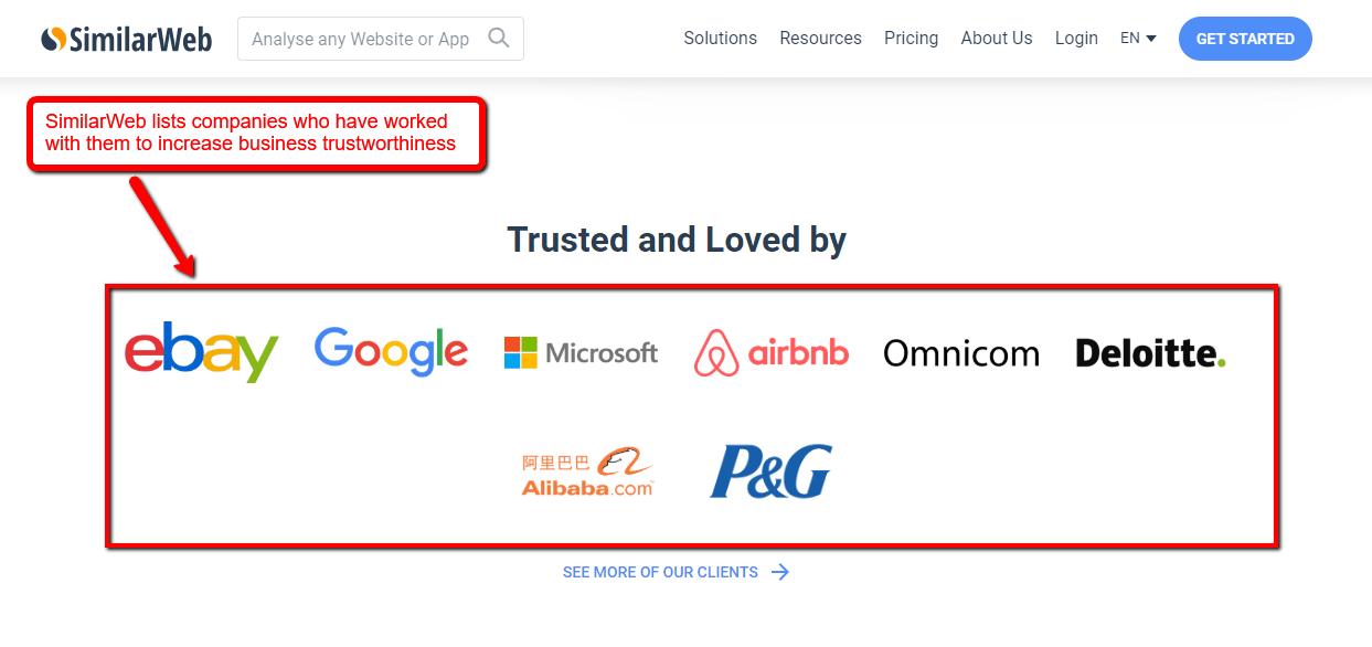 Similar Web Corporate