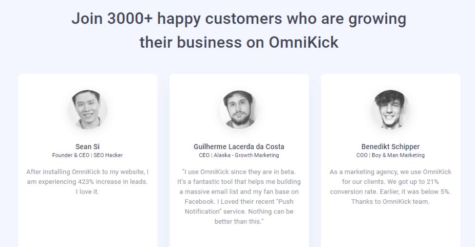 OmniKick Example