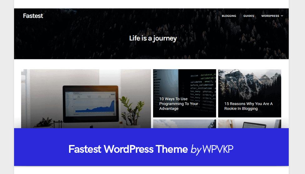 Themes - Fastest WordPress Theme