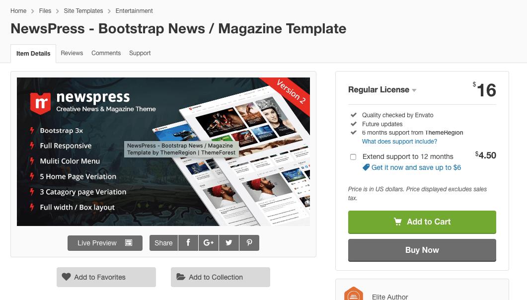 Themes - Newspress