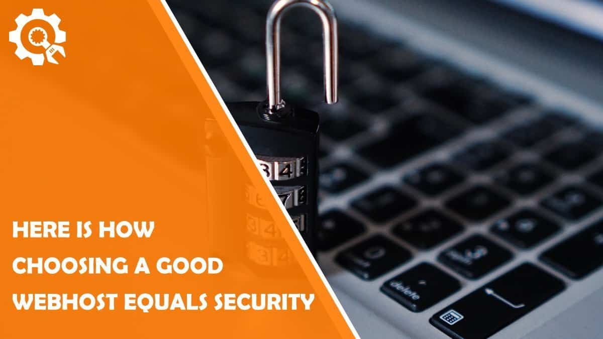 Read How to Think About the Security of a Website by Choosing Appropriate Hosting