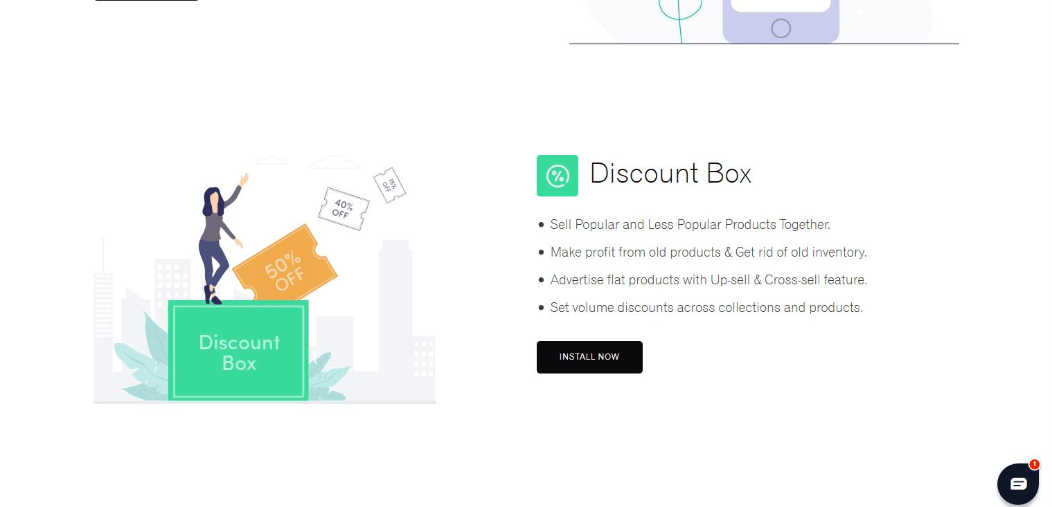 Discount box