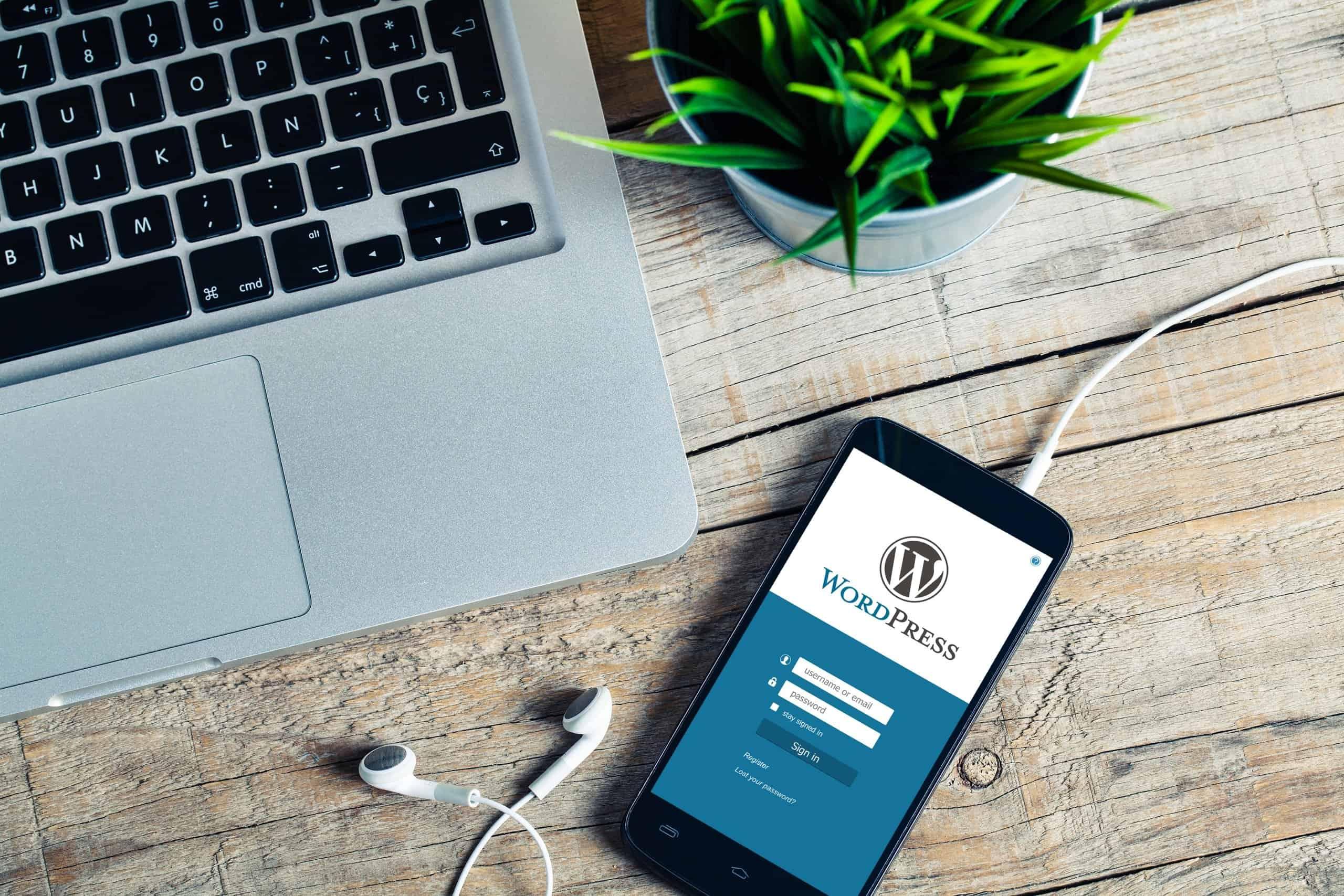 Publishing on WordPress through mobile