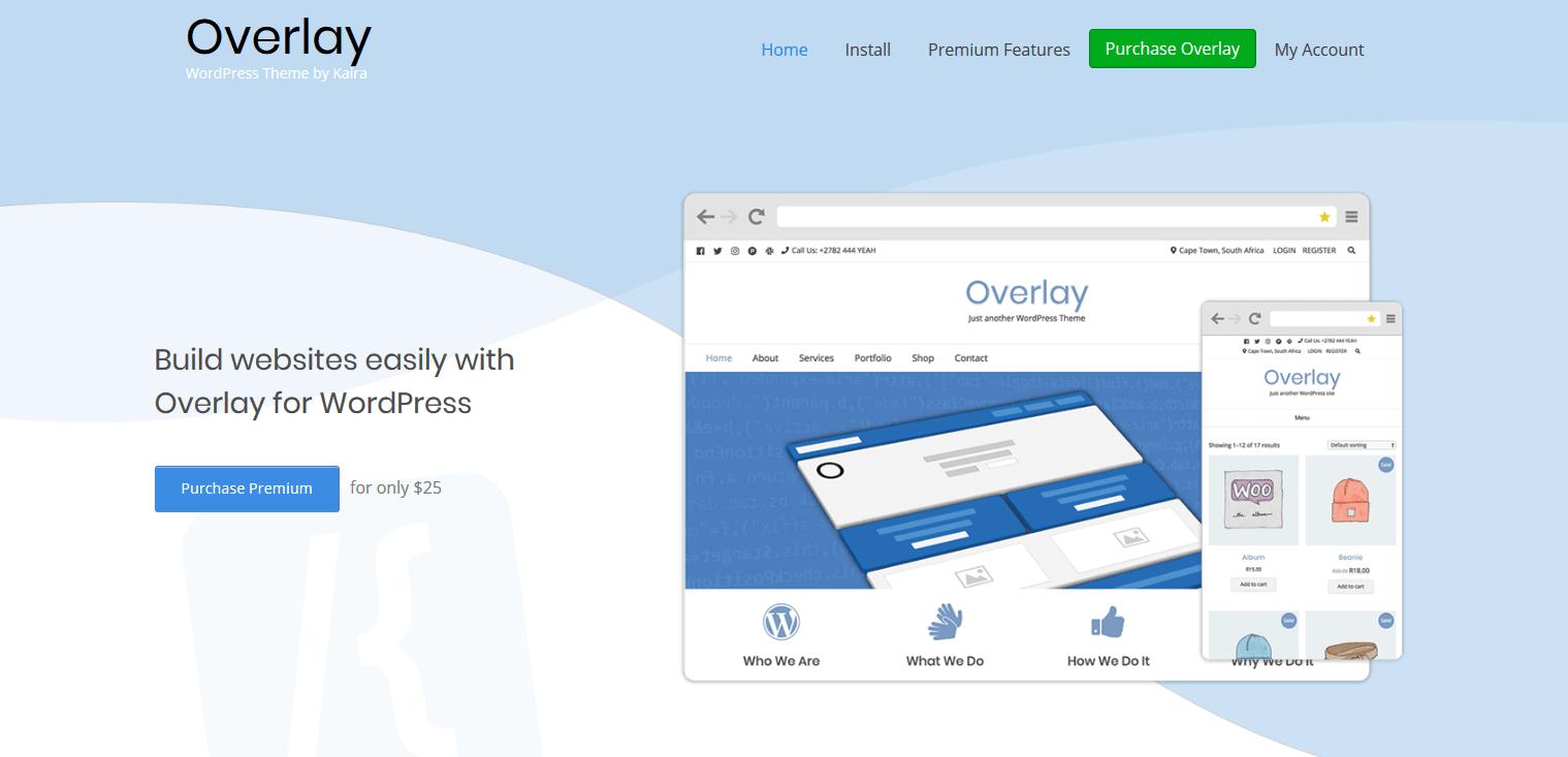 Overlay - WordPress Theme by Kaira