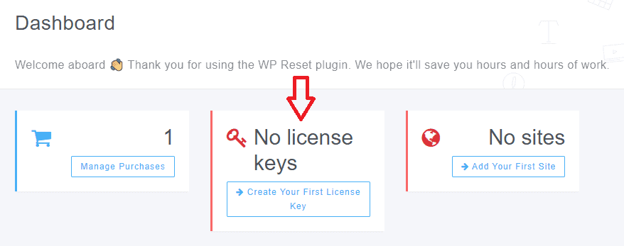 No Licence Keys