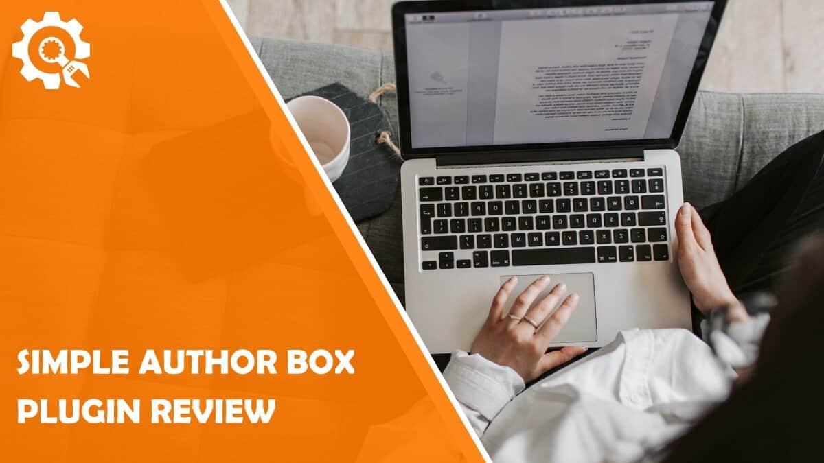 Read Simple Author Box