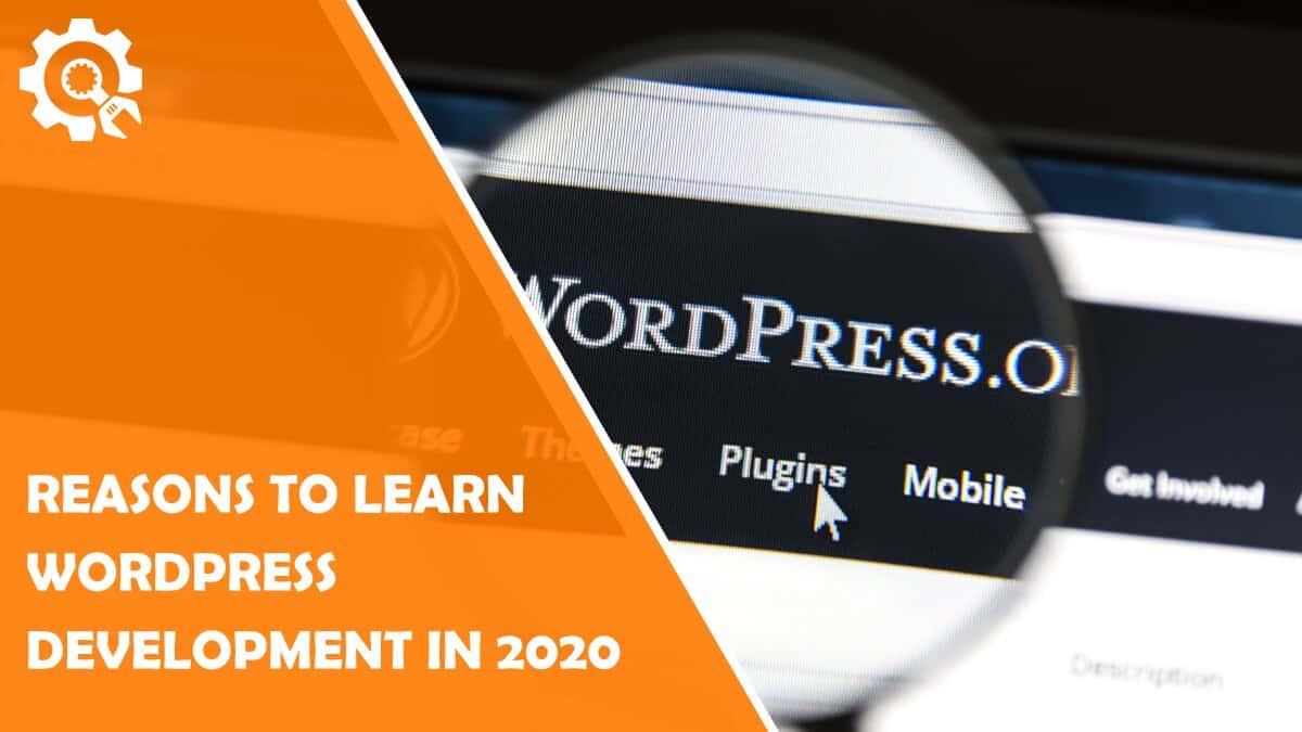 Read Convincing Reasons to Learn WordPress Development in 2020