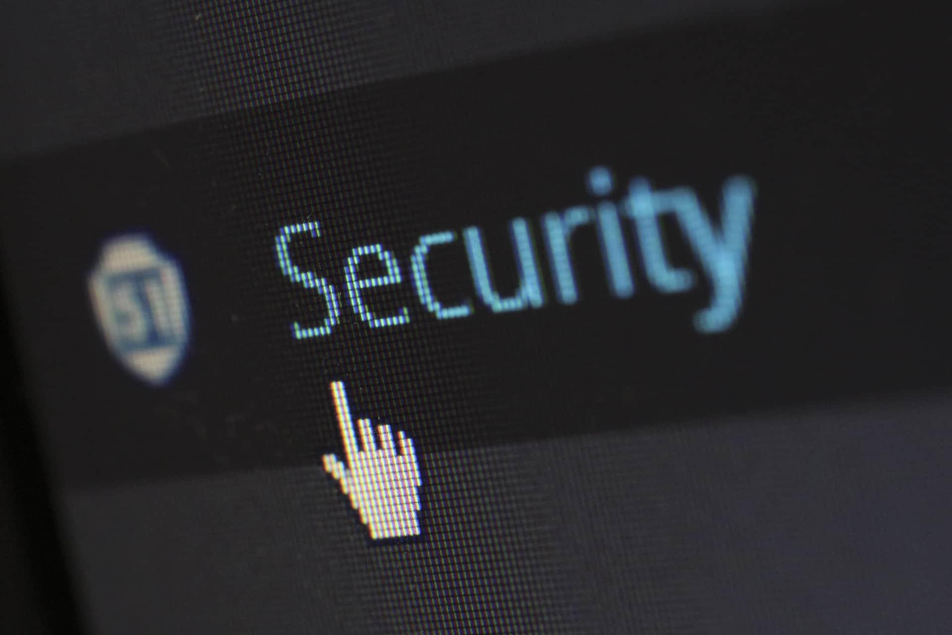 Security tab WordPress