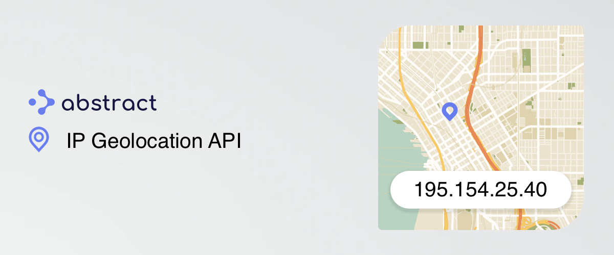 Abstract IP Geolocation API