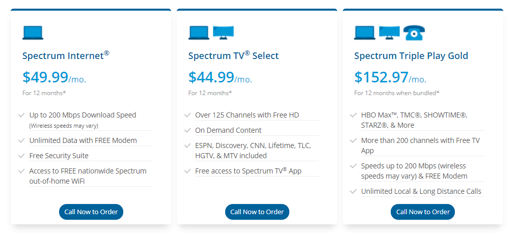 Spectrum plans
