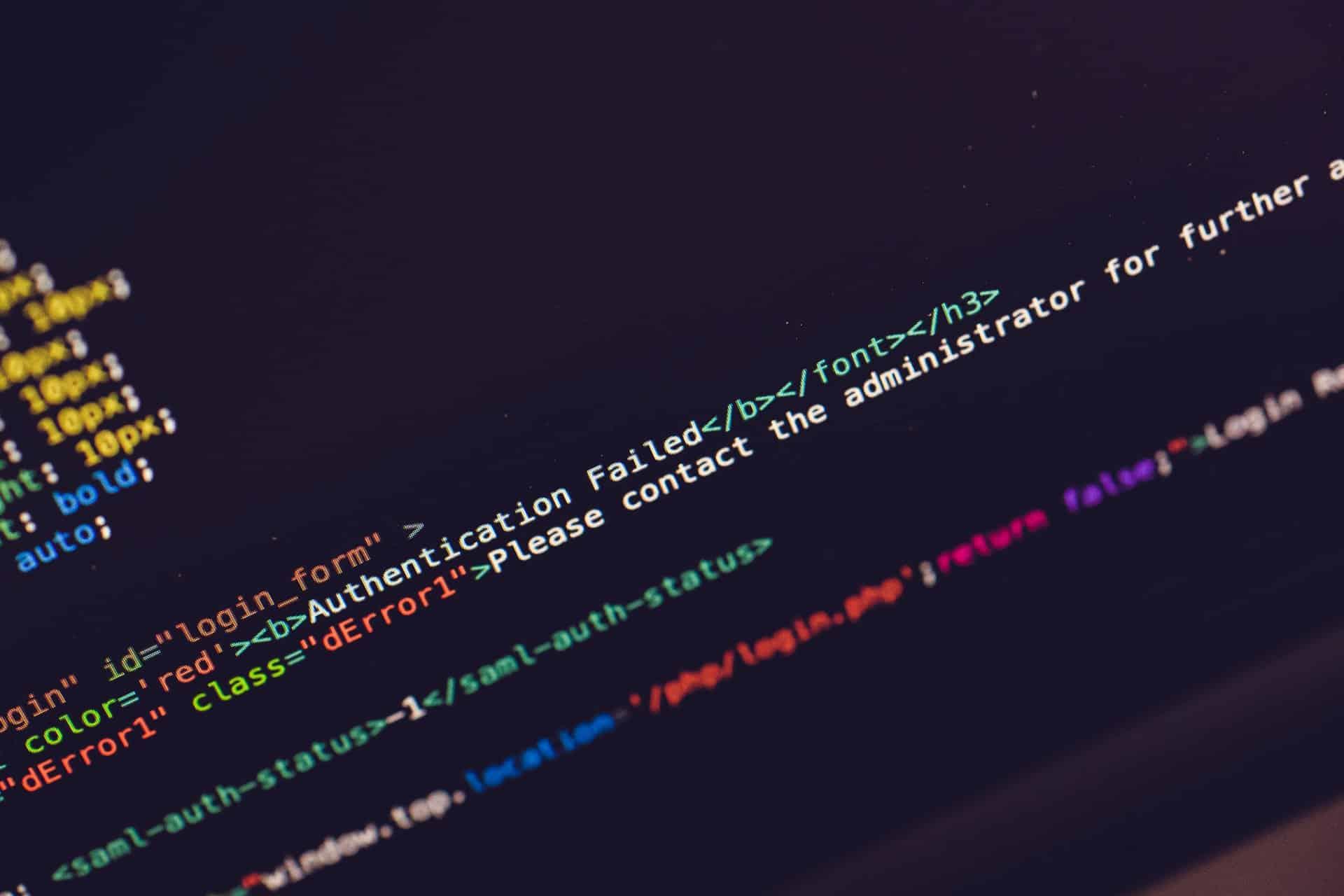 Codes Error1